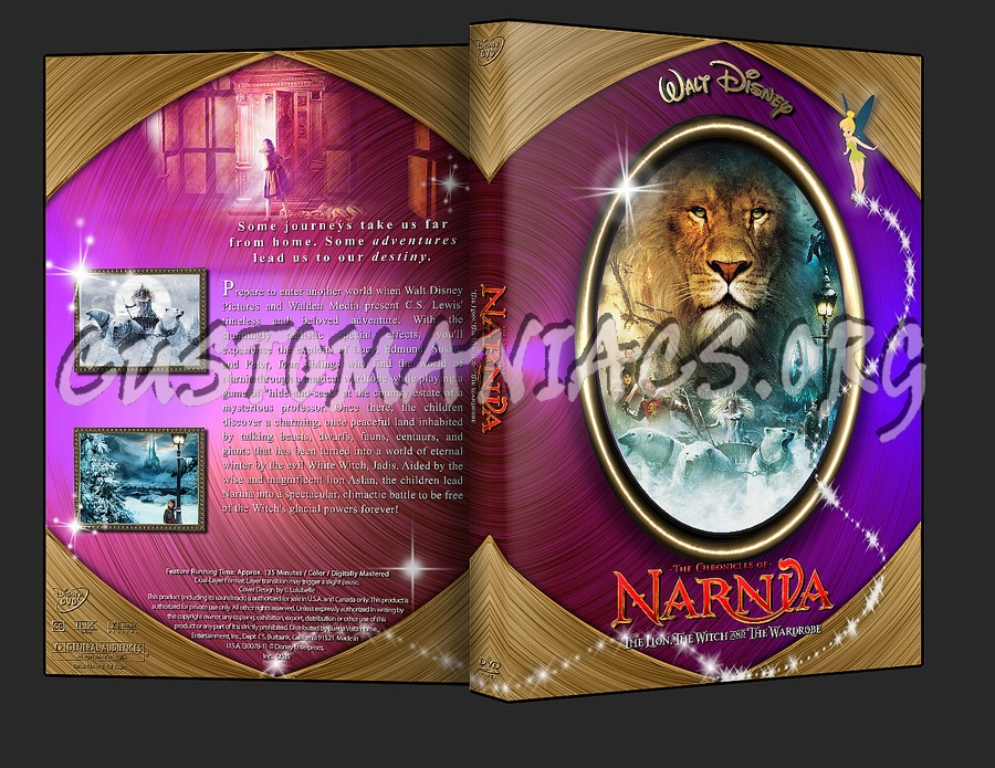 The Chronicles of Narnia The Lion the Witch and the Wardrobe dvd cover