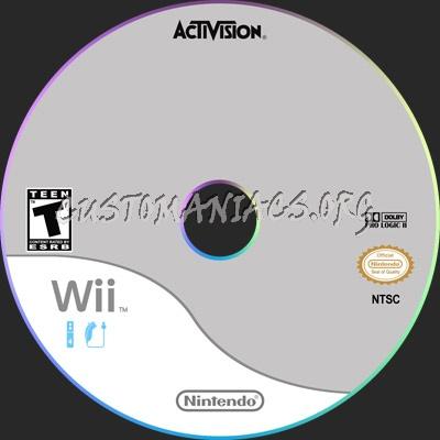 Wii dvd label