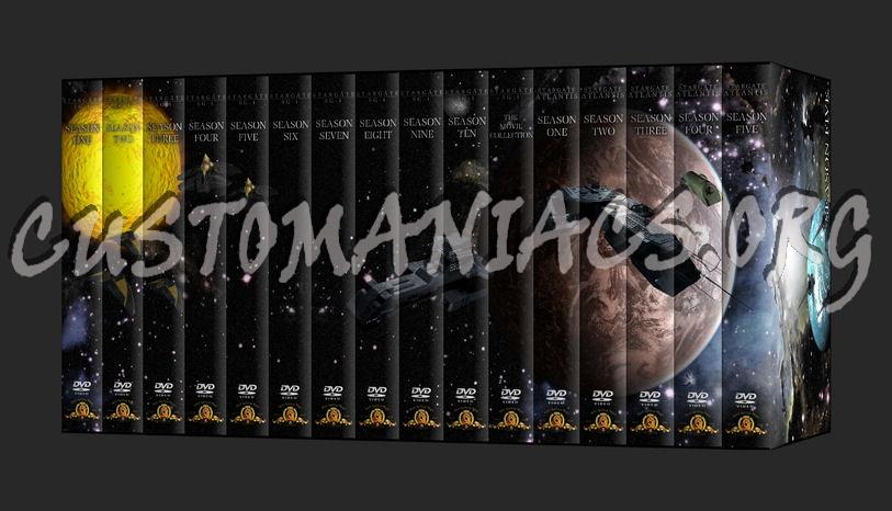 Stargate SG1 dvd cover