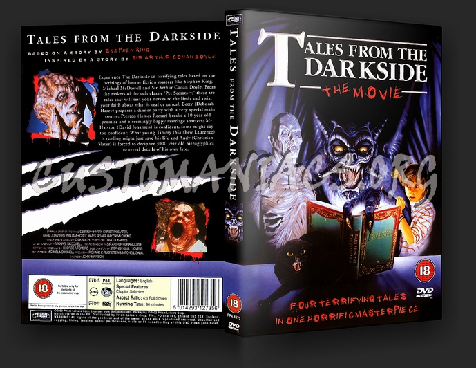 Tales From The Darkside dvd cover