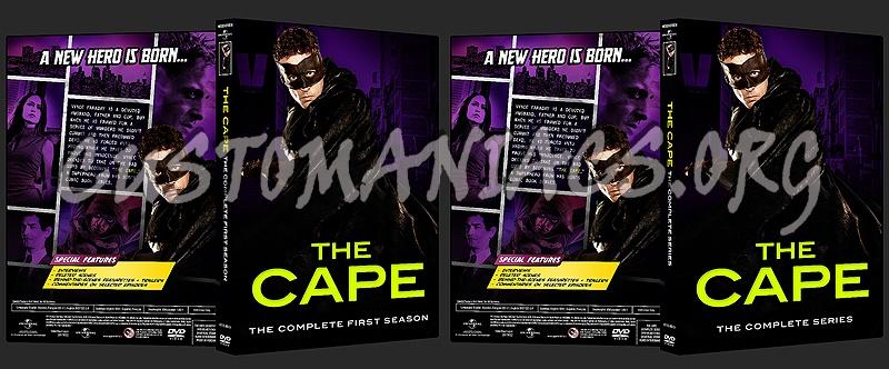 THE CAPE - Season 1 & Complete Series dvd cover