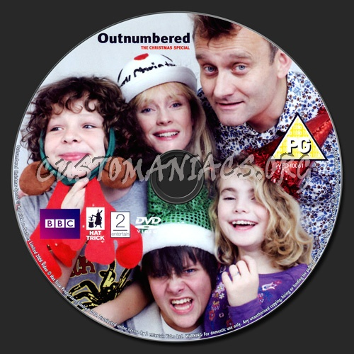 Outnumbered - The Christmas Special dvd label