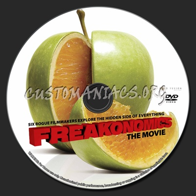 Freakonomics dvd label