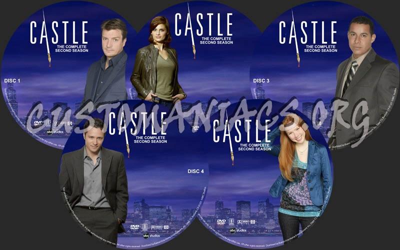 Castle - Season 2 dvd label
