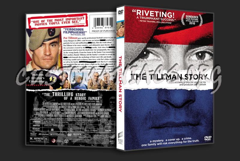 The Tillman Story dvd cover