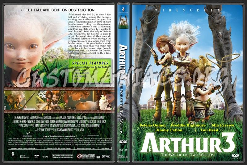 arthur 3 dvd. Arthur 3 The War of