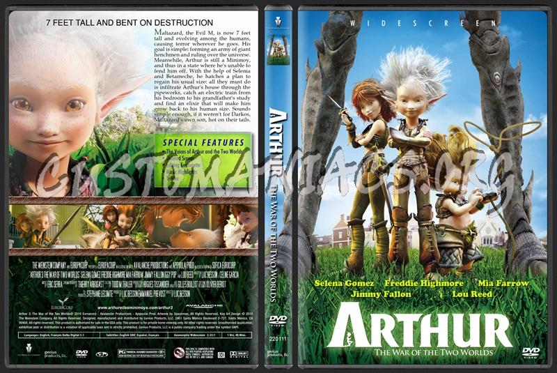 arthur 3 dvd. Arthur 3 The War of the Two