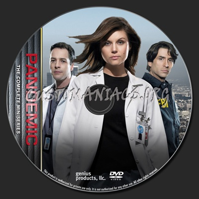 Pandemic - The Miniseries - TV Collection dvd label