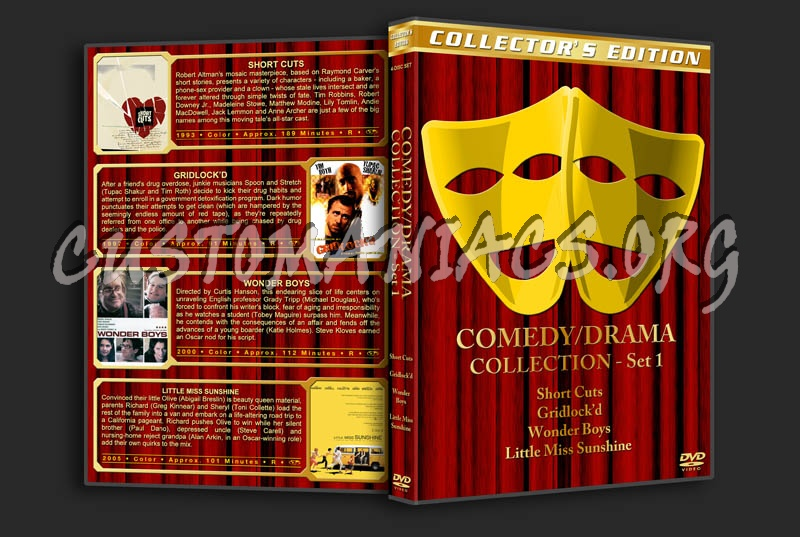 Comedy / Drama Collection dvd cover - DVD Covers & Labels by