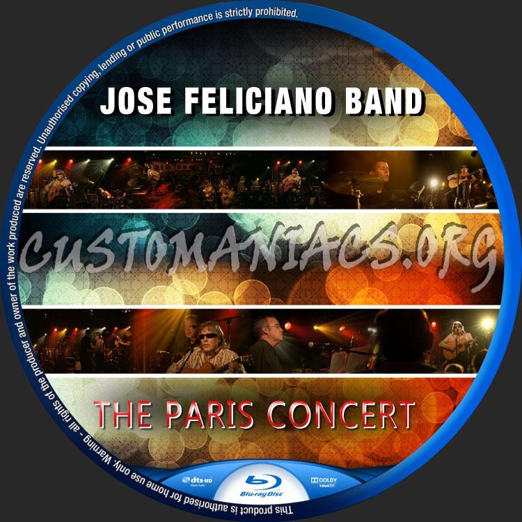 Jose Feliciano The Paris Concert blu-ray label