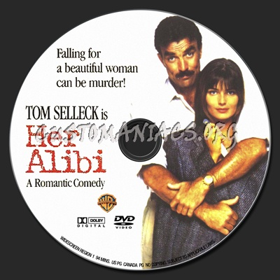 Her Alibi 1989 Dvd Label Dvd Covers Labels By Customaniacs Id