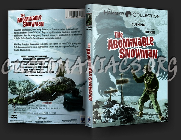The Abominable Snowman dvd cover