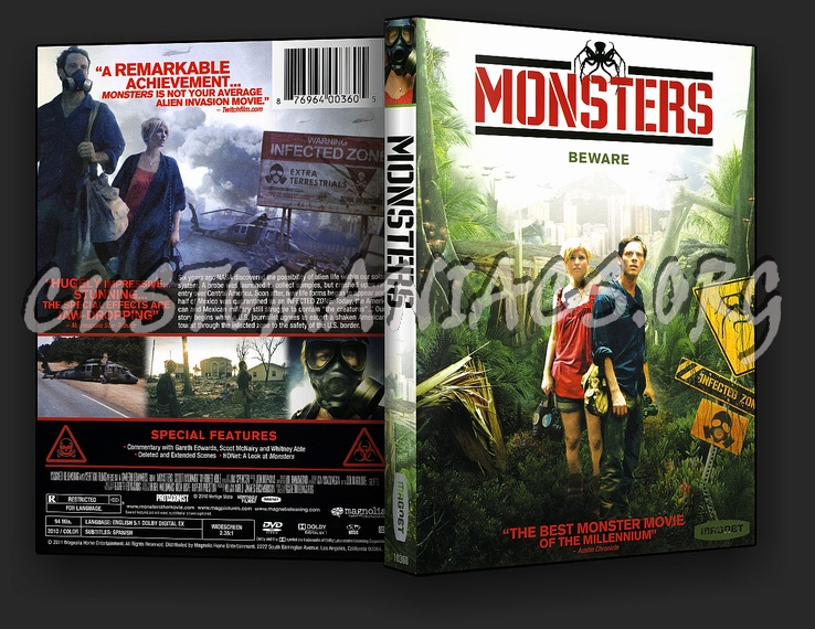 Monsters dvd cover