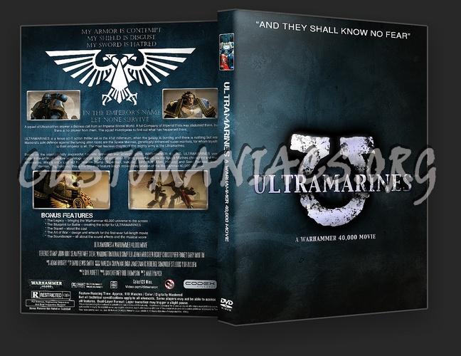 Ultramarines A Warhammer 40,000 Movie dvd cover