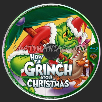 How The Grinch Stole Christmas Blu Ray.How The Grinch Stole Christmas Blu Ray Label Dvd Covers