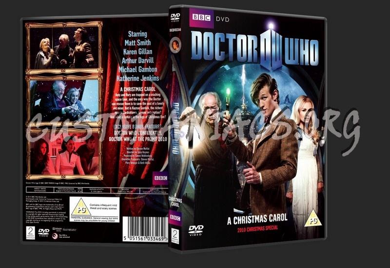 Doctor Who: A Christmas Carol - 2010 Christmas Special dvd cover