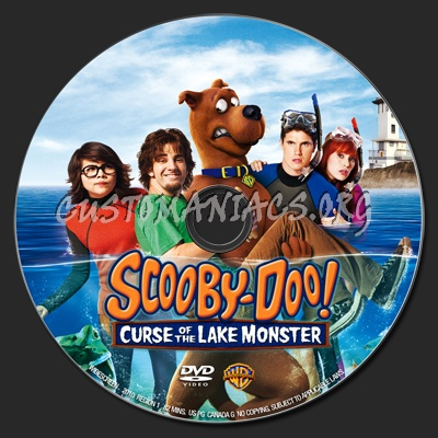 Scooby Doo Curse of the Lake Monster dvd label