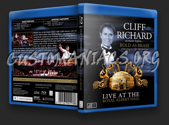 Cliff Richard: Bold as Brass blu-ray cover