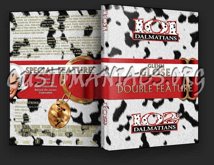 101/102 Dalmatians Collection dvd cover