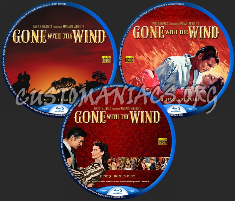 Gone with the wind blu ray label dvd covers labels by customaniacs id 127990 free download - Gone with the wind download ...