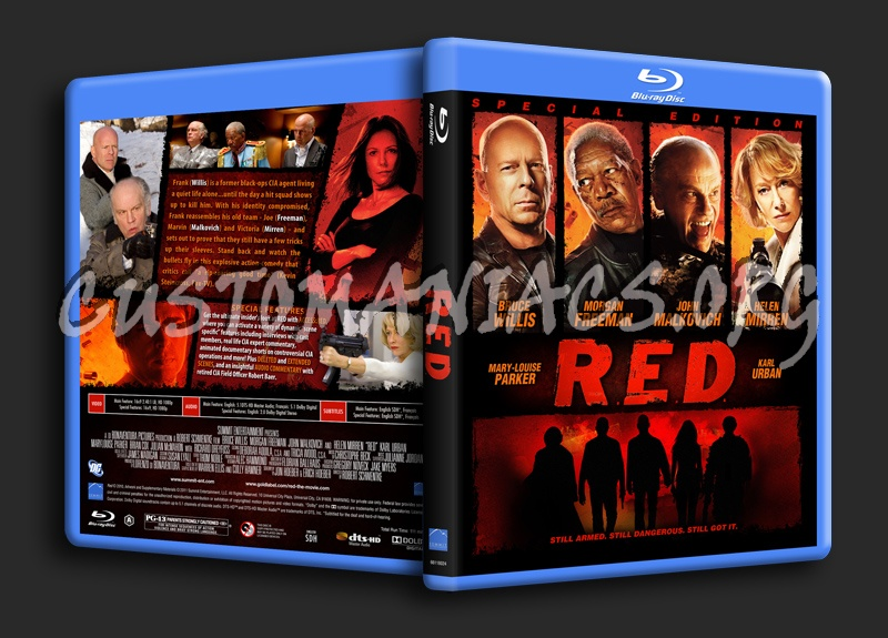Red blu-ray cover