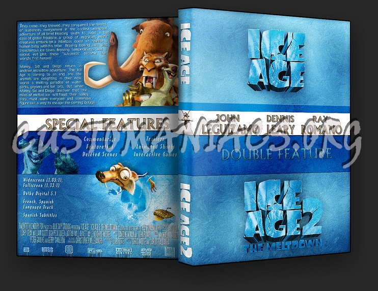Ice Age Collection dvd cover