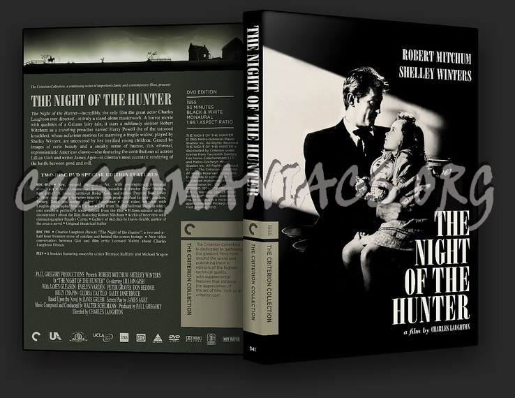 541 - The Night of the Hunter dvd cover