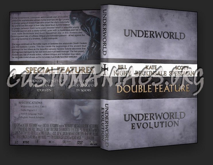 Underworld Collection dvd cover