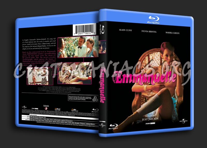 Emmanuelle blu-ray cover