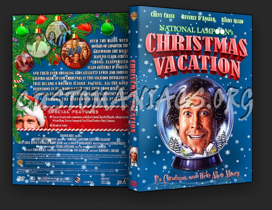 national lampoons christmas vacation dvd cover