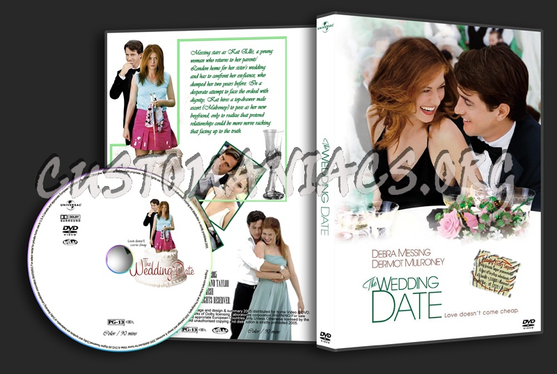 The Wedding Date dvd cover