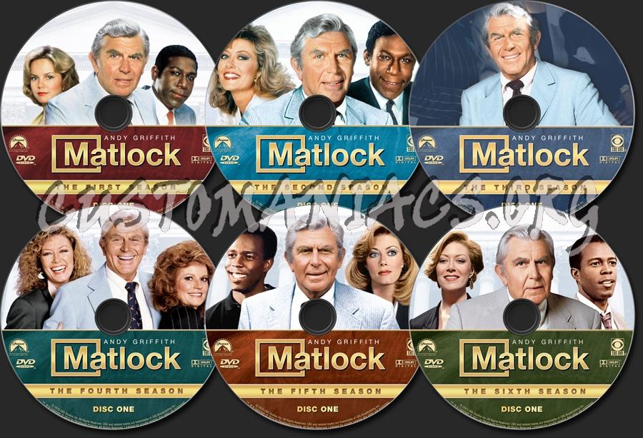 Matlock dvd label