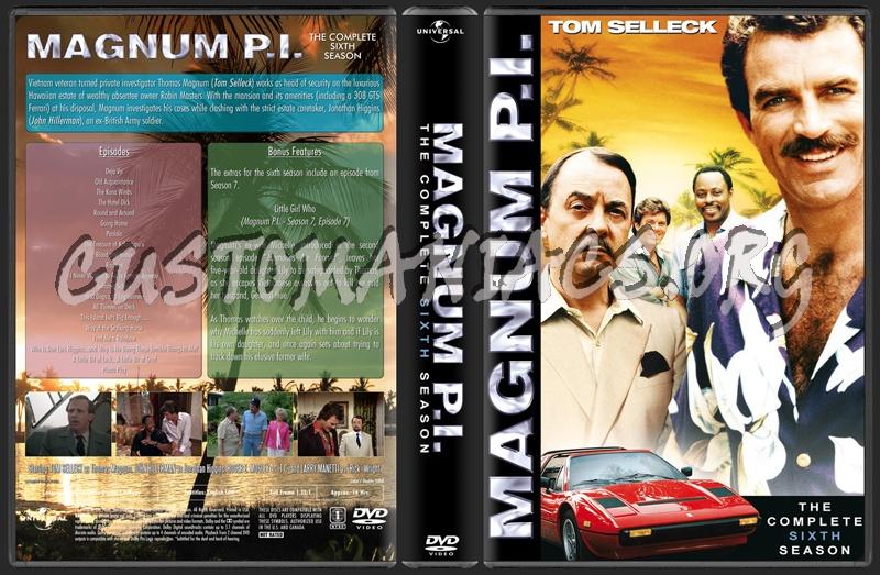 Magnum P.I. dvd cover