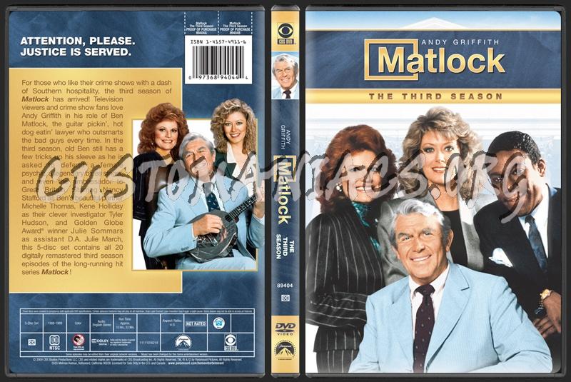 Matlock dvd cover