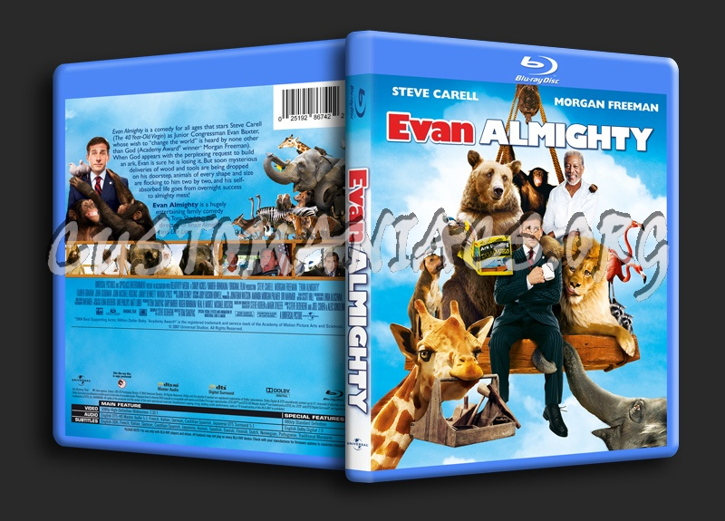 Evan Almighty blu-ray cover