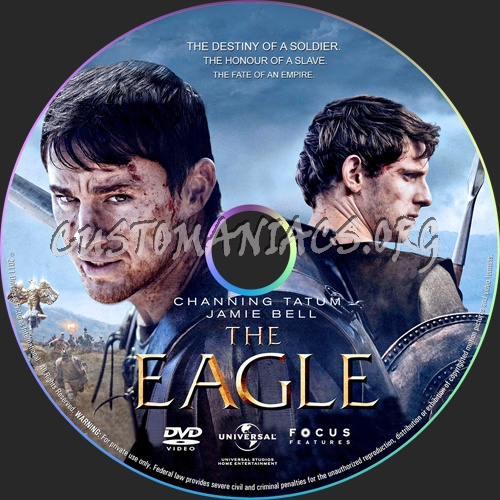 The Eagle dvd label