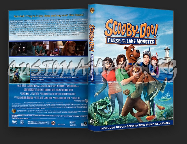 Scooby Doo Curse Of The Lake Monster dvd cover