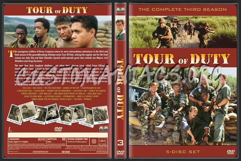 Tour of Duty dvd cover
