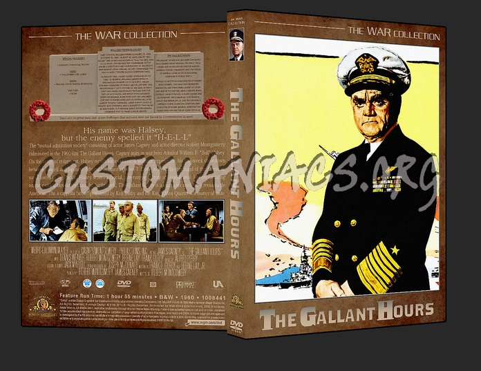 War Collection The Gallant Hours dvd cover