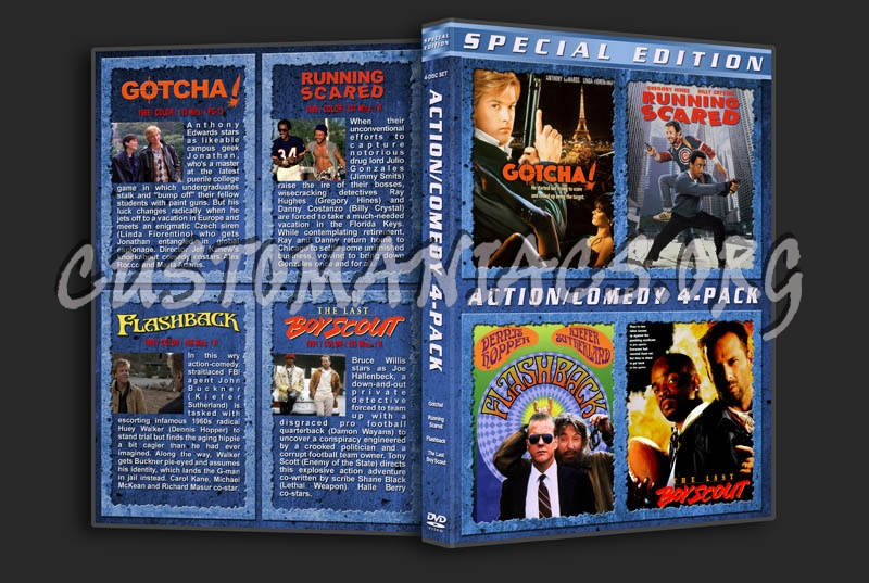 Action / Comedy 4-Pack dvd cover