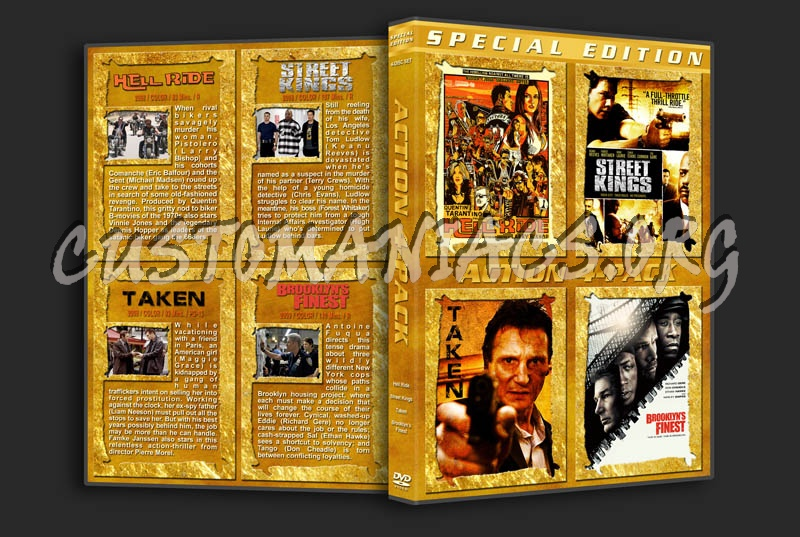 Action 4-Pack dvd cover