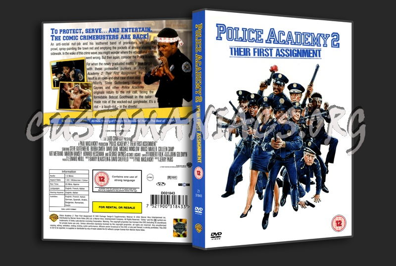 Police Academy 2: Their First Assignment dvd cover