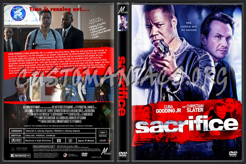 Sacrifice dvd cover