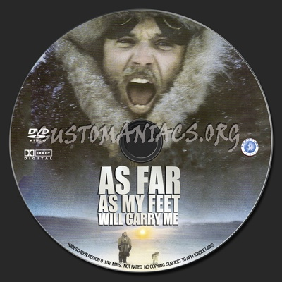 As Far As My Feet Will Carry Me dvd label