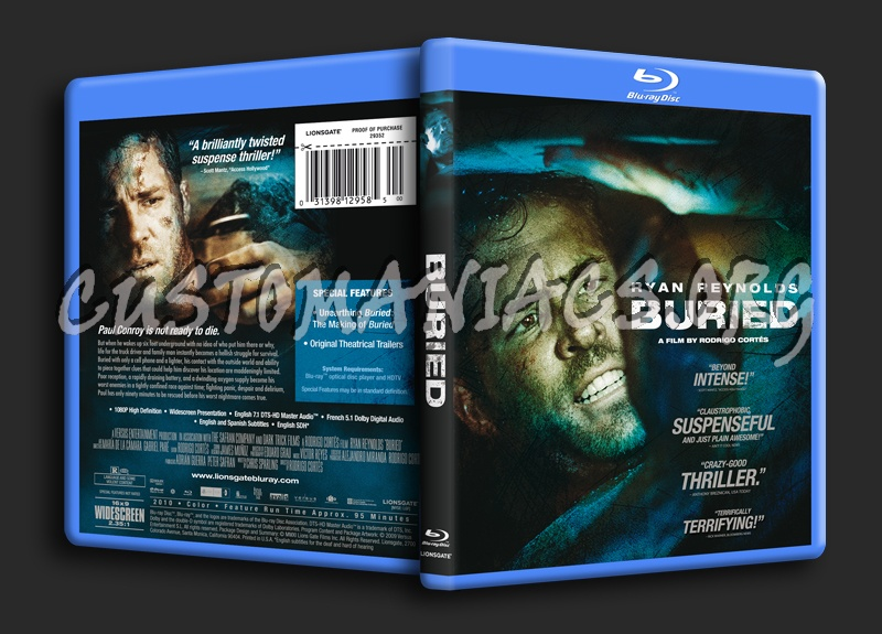 Buried blu-ray cover