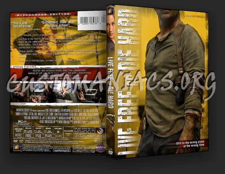 Live Free or Die Hard dvd cover