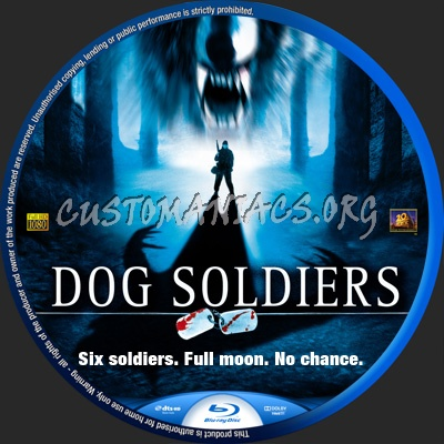 Dog Soldiers blu-ray label
