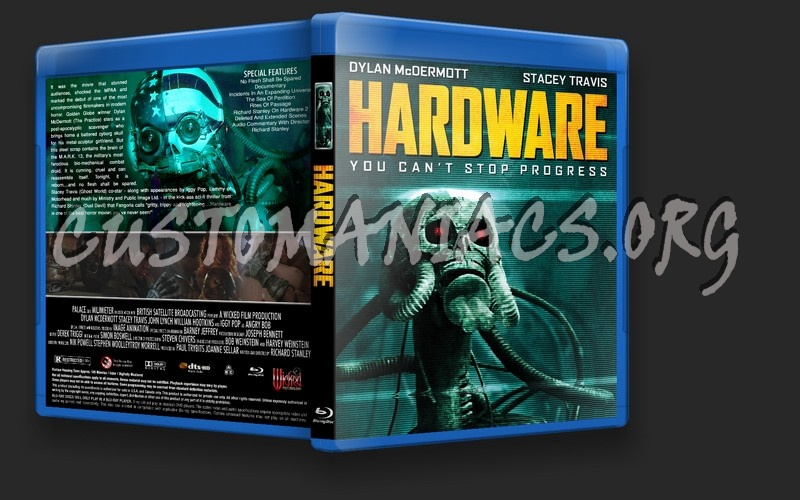 Hardware blu-ray cover