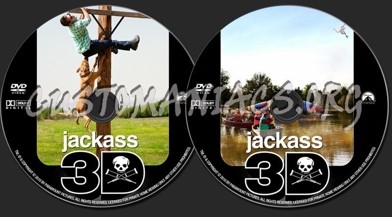 Jackass 3D dvd label