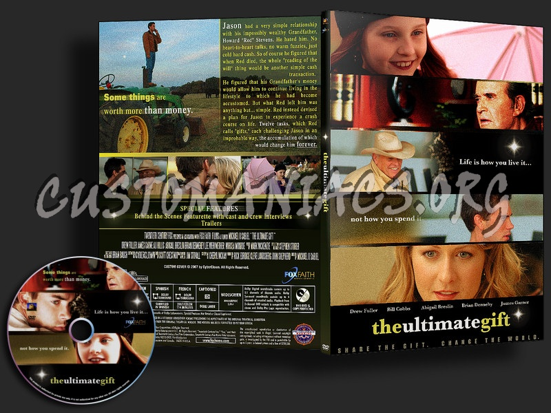 Ultimate gift / ultimate life / ultimate legacy set of three dvd.
